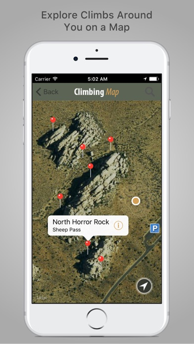 Joshua Tree Rock Climbing by Big Leaf Mobile LLC Sports Category