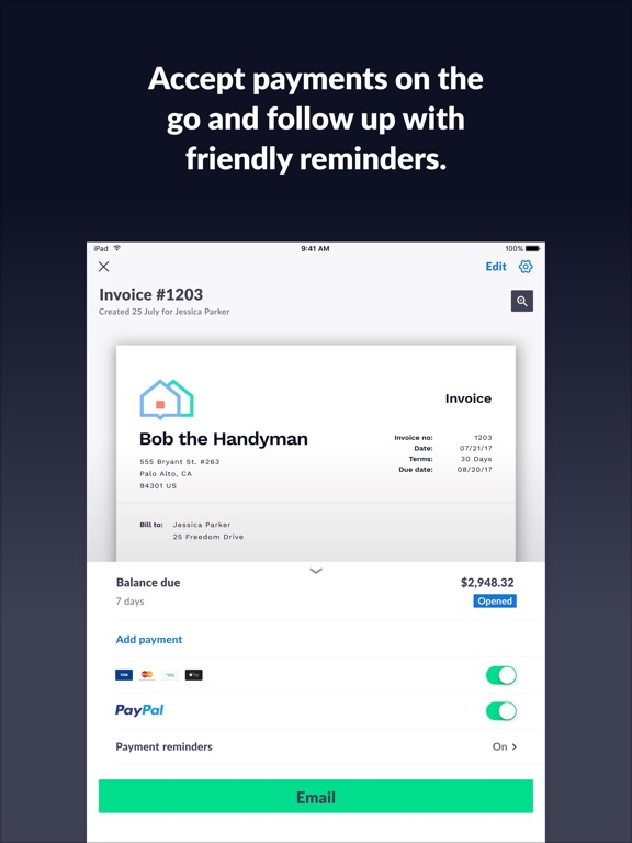 Make Your Own Invoice Template Free Invoice Go Invoice  Estimate By Invoicegocom Ios United  Simple Invoice Form Excel with Consular Invoice Format Screenshots E Invoicing Solutions