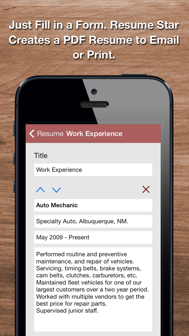 resume star pro cv maker and resume designer with pdf output to help you score that job interview and advance your career by qrayon llc 6 app in - Auto Resume Maker