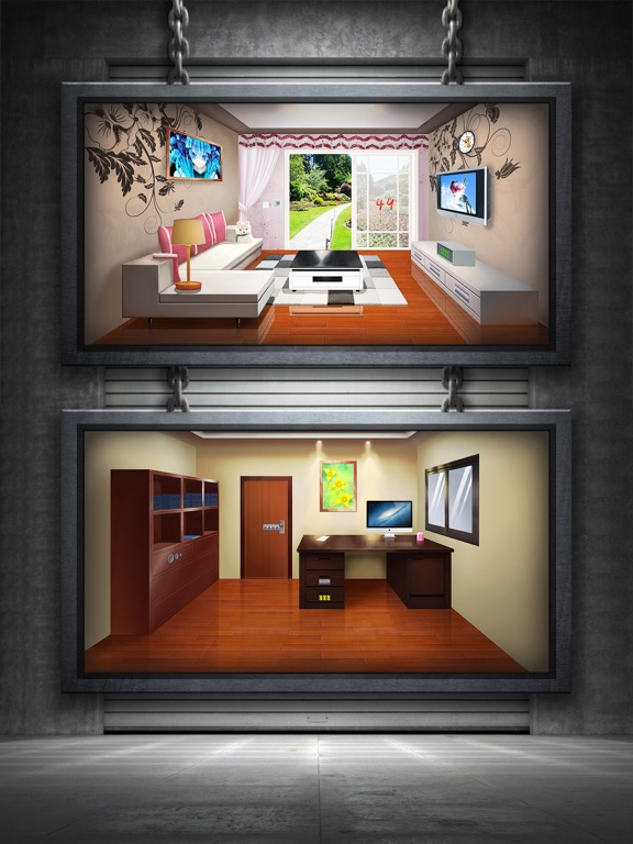 Escape Room Apartment Doors And Floors By Weiwei Huang Ios