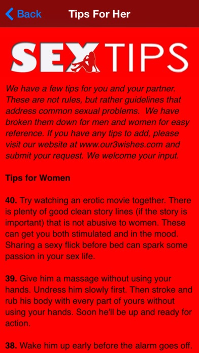 Tips For Better Sex For Women