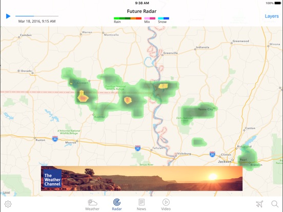 The weather channel app for ipad best local forecast radar map the weather channel app for ipad best local forecast radar map and storm tracking by the weather channel interactive ios united states searchman gumiabroncs Gallery